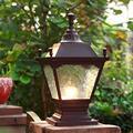 NZDY Bracket Light Waterproof Post Lights Outdoor, Hallway Pillar Lamp Retro Lamps Terrace Lamp Post Cap Lights Waterproof Wood Fence Posts Pathway,Patio, Deck,Garden E27 Stainless Steel Bracket Ligh