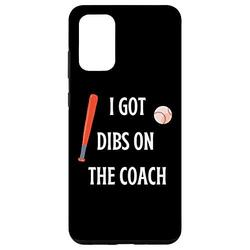 Galaxy S20+ I Got Dibs On The Coach Phone Case - Funny Baseball Gift Case