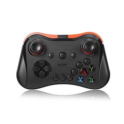 XYXZ Gamepad Controller Joysticks Gamepad Plastic Game Joystick Controller Bluetooth Mobile Phone Joypad Wireless Vr For Mobile Box Pc Switch Host Android Game Handle Mobile Home Gift Tv Bo