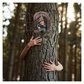 Trouble 15cm Elf from The Door Tree Hugger Whimsical Tree Sculpture Garden, Garden Figures for Outdoor Use, Garden Garden Weatherproof, Permanent Garden Garden Figure Decorations Garden Garden Garden