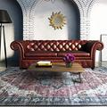 DUWEN Indoor Carpet Living Room Carpet Bedroom Carpet Room Full Bed Blanket Household Carpet Floor Carpet Guest Nordic Retro Carpet for Living Room (Color : A, Size : 160x230cm)