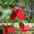 Darkduke Bird Wind Spinner, Wooden Whirligig-Asuka Series Windmill Whirly Parrots Helicopter Wind Sculptures Decoration for Outdoor Lawn Yard Patio Garden Sculptures & Statues