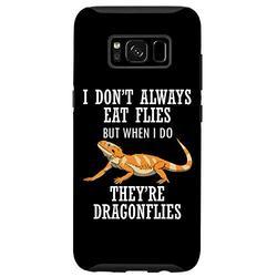Galaxy S8 Bearded Dragon Eat Dragon Flies Reptile Lizard Case