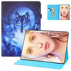 Case for Kindle Paperwhite 6 inch E-Reader Cover, Paperwhite 10th Gen 2018 Case, UGOcase Standing PU Leather Auto Wake Sleep PU Leather Anti-Scratch Case for Kindle Paperwhite 1 2 3 4 - Night Wolf