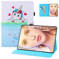 Case for Kindle Paperwhite 6 inch E-Reader Cover, Paperwhite 10th Gen 2018 Case, UGOcase Standing PU Leather Auto Wake Sleep PU Leather Anti-Scratch Case for Kindle Paperwhite 1 2 3 4 - Mirror Unicorn
