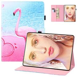 Case for Kindle Paperwhite 6 inch E-Reader Cover, Paperwhite 10th Gen 2018 Case, UGOcase Standing PU Leather Auto Wake Sleep PU Leather Anti-Scratch Case for Kindle Paperwhite 1 2 3 4 - Love Flamingo