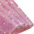 37800Pcs Bling Crystal Rhinestone, DIY Car Decoration Sticker Self-Adhesive Glitter Rhinestones Gems Sheets, DIY Crafts Crystal Sheet for Phone Gift Glass Nail Decorations (Pink)