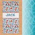 Camp Gear Towel | Personalized Kids Towel | Beach Towel | Kids Towels | Custom Camp Towels Towel | Monogrammed Pool Towel | Kids Gifts