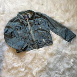 Pink Victoria's Secret Jackets & Coats | Denim Jean Jacket | Color: Blue | Size: M