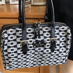 Kate Spade Bags   Kate Spade Vintage Ace Of Spade Satchel   Color: Black/Red/Silver   Size: 12l X 10h X 5.5w Handle Drop 7