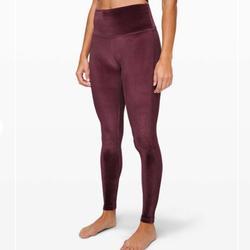 Lululemon Athletica Pants & Jumpsuits   Lululemon Wunder Lounge Hr 28 Sz 8   Color: Purple   Size: 8