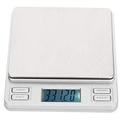 Small Digital Scales, Mini Pocket Jewelry Scale Portable Travel Food Scale Herb Scale, with Large LED Screen for Jewelry Scale Laboratory Scale Carat Scale(200 g 0.01)