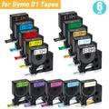 UniPlus – ruban d'étiquettes Dymo D1, 12mm, pour étiqueteurs, étiqueteurs, LM160, 6PK 45013 45010