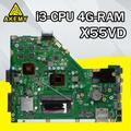 X55VD carte mère i3-4G pour For Asus X55VDR X55V X55C ordinateur portable carte mère X55VD carte