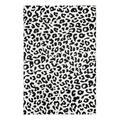 nuLOOM Indoor Rugs Dark - Dark Gray Leopard Rug