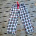 Ralph Lauren Intimates & Sleepwear | Ralph Lauren Plaid Pajama Pants | Color: Red/White | Size: L