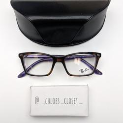 Ray-Ban Accessories | Ray Ban Rb5241 5074 Women'S Eyeglassesps710 | Color: Brown/Purple | Size: Lens: 50 Mm, Bridge: 17 Mm, Temple: 140 Mm