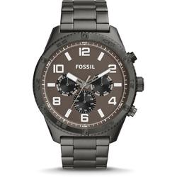 Fossil Montre Brox multifonction en acier inoxydable anthracite -Anthracite