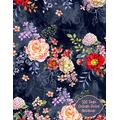 500 Page College-Ruled Notebook: Extra Large Notebook/Journal|500 pages1000 sheets| 8.5 x 11|Blue and Pink Floral Garden Design Theme For ... (Giant All-Purpose Notebook Collection)