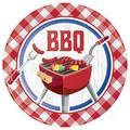 "Creative Converting Summer BBQ Paper Plates 24 CountHeavy Duty Paper, Size 9""   Wayfair DTC349554DPLT"