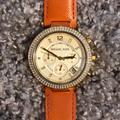 Michael Kors Accessories   Michael Kors Parker Chronograph Watch   Color: Orange   Size: 39mm