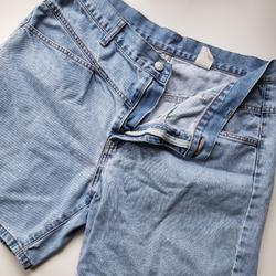 Levi's Shorts | Levi'S | Red Tag Jean Shorts Jorts | Color: Blue/Red | Size: 14