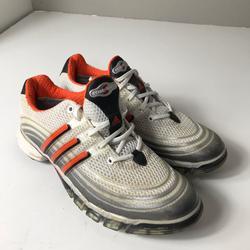 Adidas Shoes   Men'S Adidas Powerband Sport Golf Shoes Size 8   Color: Black/Gray/Orange   Size: 8