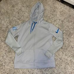 Nike Other | Light Blue Zip Up Hoodie | Color: Blue | Size: Medium