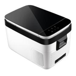 FETER 18 Cubic Feet cu. ft. Built-In Mini Fridge w/ Freezer in Black/White, Size 21.9 H x 13.6 W x 12.4 D in | Wayfair FTB-18L