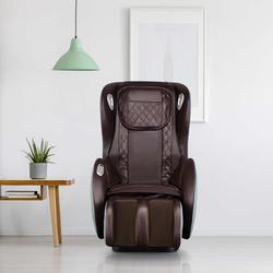 Brayden Studio® Massage Chairs SL Track Full Body & Recliner, Shiatsu Recliner, Massage Chair w/ Bluetooth Speaker Faux Leather in Green   Wayfair