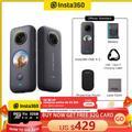 Insta360 One X2 – caméra d'action de Sport, vidéo 5.7K, étanche à 10M, stabilisation de l'état du