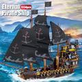 Blocs de construction créateur de bateau, de la série l'éternité des pirates, à faire soi-même,