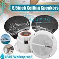 Haut-parleurs de plafond pour bateau, 1 paire, 6.5 pouces, étanche, pour cuisine, salle de bain,