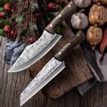 Couteau de boucher en acier inoxydable pour légumes et viande, couteau à découper, rasoir tranchant,