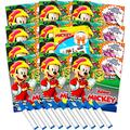 Disney Mickey Mouse Imagine Ink Coloring Book Set for Girls Boys - 12 Pack No Mess Coloring Books with Mickey Mouse Tattoos (Mickey Mouse Party Favors Bundle)