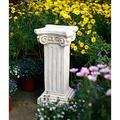 Praying Angel Cherub Wings Garden Planter Flowerpot Cement Round Flower Seed Herb Pot Planter Garden,Roman Column A