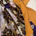 Free People Accessories | Free People Pony Hair Accessories | Color: Purple/Yellow | Size: Os