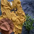 Free People Accessories | Free People Kimono Nwot | Color: Orange | Size: Os