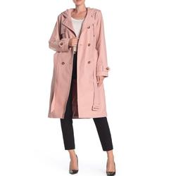 Kate Spade Jackets & Coats   Kate Spade Double Breasted Hooded Trench Coat   Color: Pink   Size: M