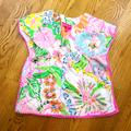 Lilly Pulitzer Swim | Lilly Pulitzer Shirt, Dress Or Swim Cover | Color: Blue/Pink | Size: 3tg