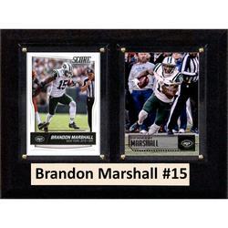 New York Jets Brandon Marshall 6'' x 8'' Plaque