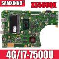 Akemy X556UQK carte mère pour Asus X556UV X556UQ X556UQK X556UVK ordinateur portable carte mère 4GB