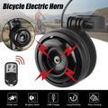 Accolmile – sonnette de vélo électrique, klaxon électronique de guidon, sonnette de vélo,