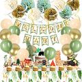 Woodland Creatures Theme Baby Shower Decorations Gender Neutral Forest Animal Supplies for Boy or Girl Birthday Party Decor Baby Shower Party Decorations Welcome Baby Banner Forest Animal Supplies