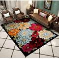 Custom Geometric Modern Area Rug Modern Area Rug, 8 mm Pile, Soft Area Rugs for Bedroom Living Room Shag Area Rug Modern Indoor Plush Fluffy Carpets, Soft and Comfy Carpet, Girls Kids 47X63 inch