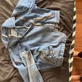 Free People Jackets & Coats | Jeans Jacket, Free People , Blue Denim, Xs, Bomber | Color: Blue | Size: Xs