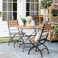 Giardino 3-Piece Café Dining Set with Side Chairs - Ballard Designs
