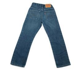 Levi's Bottoms | Levi Boys Denim Jeans Reg 511 Slim Denim Jeans | Color: Blue | Size: 7b