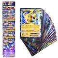 60pcs/Box Pokemon Battle Card EX MEGA Booster Box English Trading Game Shining Card Top Loaded List Toy Gift For Kid