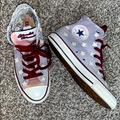 Converse Shoes | Converse Special Edition High Top Sneakers Shoes | Color: Blue/Purple | Size: 4.5bb